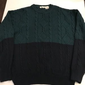 NWOT Men's Claiborne ribbed sweater